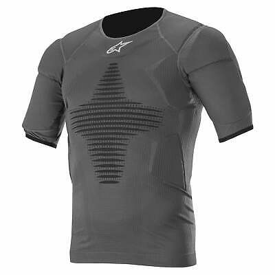 Alpinestars Roost Base Layer Top Mens Body Armour Torso - Anthracite Black