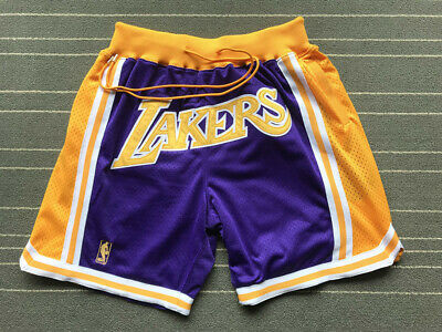brand new f6e93 499f9 LAKERS JUST DON Authentic Shorts, Lakers Store Exclusive ...
