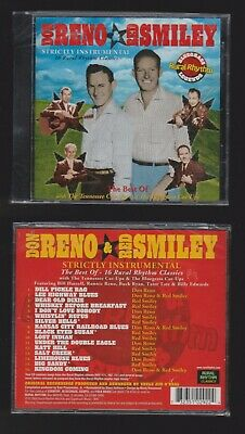 SEALED* Don Reno/Bill Harrell:Strictly Instrumental The Best of 16 Rural Rhythm