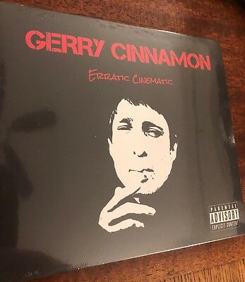 Gerry Cinnamon - Erratic Cinematic Original 1st. Ed. Limited Cd, New, & Sealed!!