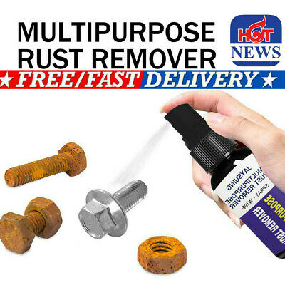 30ML Rust Inhibitor Rust Remover Derusting Spray Car Maintenance Cleaning US