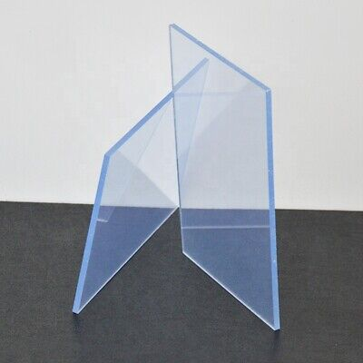 Clear Perspex Acrylic Glass Sheet Plexiglass Custom Cut to Size Plastic Panel