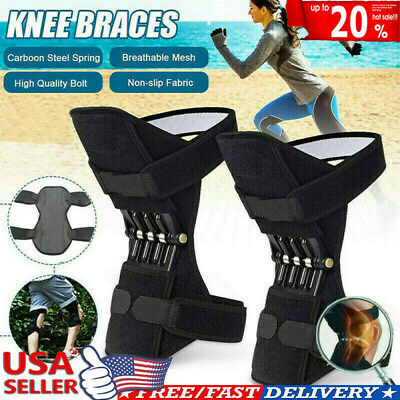 Power Knee Stabilizer Pad Lift Joint Support Powerful Rebound Spring Force US NJ