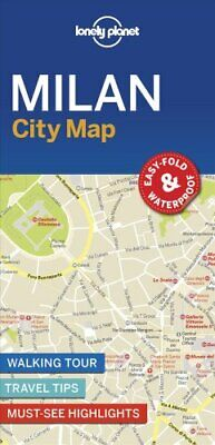 Lonely Planet Milan City Map by Lonely Planet 9781787014626 | Brand New