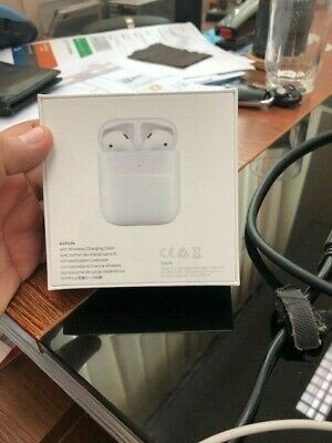 Apple AirPods 2nd Generation with Wireless Charging Case - White brand new