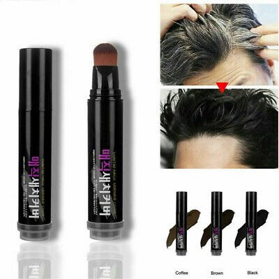 Women Men Non-Toxic Hair Instant Dyeing Pen Cover Gray Root Hair Touch Up Stick