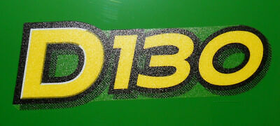 John Deere D130 lower hood decal set of 2 for a D130 tractor  GX23638