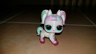 LOL Surprise Doll Pet Unipony Figure Series 4 Eye Spy with Pink Shoes