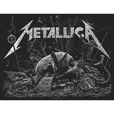 🔥 METALLICA BERLIN GERMANY JULY 6th 2019 SE SHOW EDITION NUMBERED POSTER PRINT