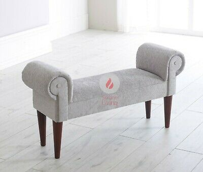Terrific Chenille Chaise Lounge Style Sofa Window Hallway Seat Bench Alphanode Cool Chair Designs And Ideas Alphanodeonline