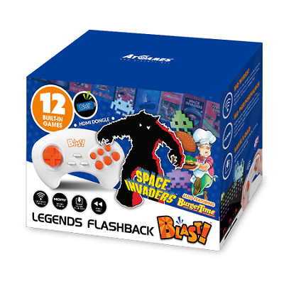 Legends Flashback Blast! w/ Space Invaders & Burger Time (HDMI Dongle) Retro