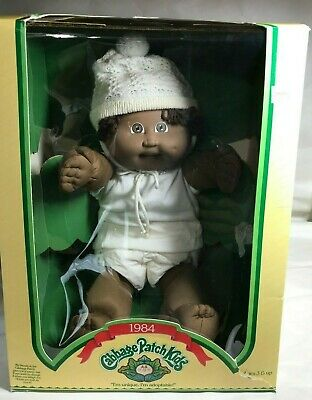 VINTAGE COLECO CABBAGE PATCH KIDS  AFRICAN-AMERICAN  DOLL IN BOX *Rare