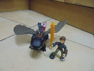 How to Train Your Dragon Toothless with Hiccup Action Figure