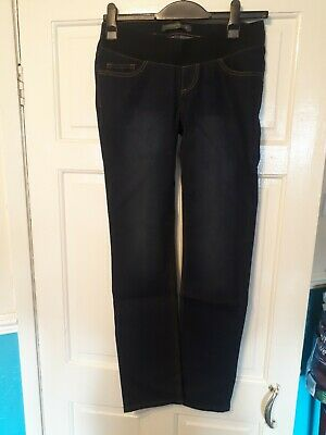 Blooming Marvellous Mothercare Maternity Jeans Size 8 8R Straight Leg RRP £24