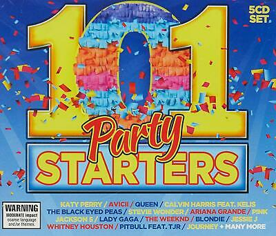 101 PARTY SONGS - Various Artists 5CD *NEW* 2013
