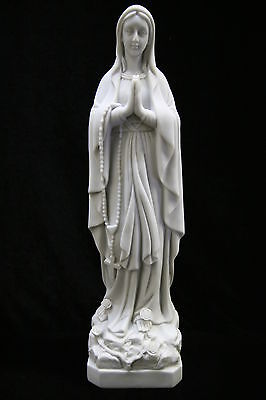 Our Lady of Lourdes Virgin Mary Italian Statue Religious Vittoria Made in Italy