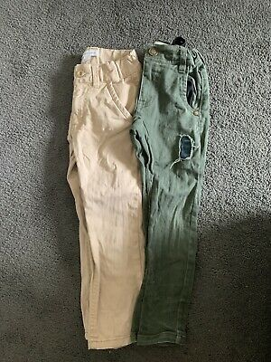 Boys Size 3 Long Pants - Pumpkin Patch And Milkshake