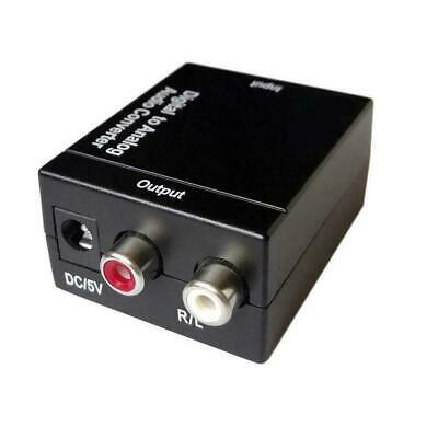Optical Coaxial Toslink Digital to Analog Audio Converter 3 H7L3 Adapter RC N7W4