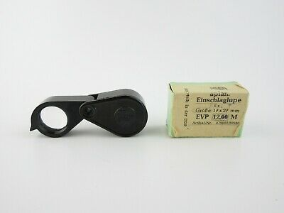 Carl Zeiss Jena Einschlaglupe 8x folding magnifying glass in Box OVP