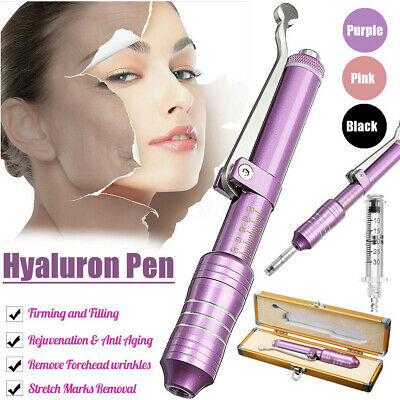 Kit Hyaluron Stylo Acide Hyaluronique Non Invasif Seringue Injection Atomiseur 8