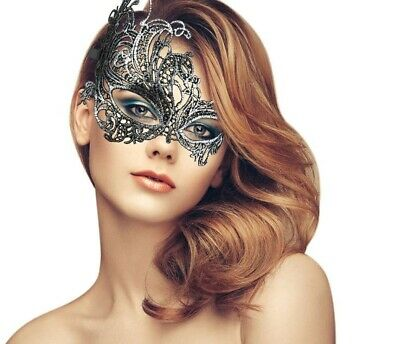 Popular Silver Soft Mask Ball Party Masquerade Fifty Shades Halloween AU stock