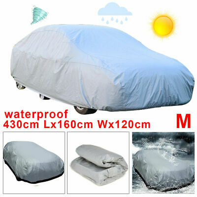 Heavy Duty Full Car Covers Waterproof Large Scratch Proof UV Protection Medium