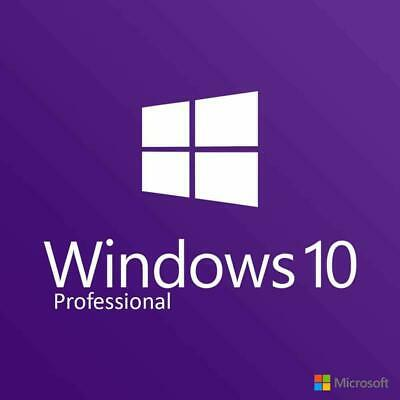 MlCR0S0FT Windows 10 Pro Professional 32/64bit Genuine License Key Product Code