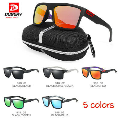 DUBERY Men Women Polarized Sunglasses UV Glasses Sport Driving Fishing Cycling
