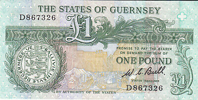 The State of Guernsey £1 Bank Note