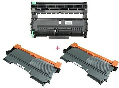 2PK TN450 Toner & 1PK DR420 Drum for Brother HL-2230, MFC-7360 HL-2270 HL-2280