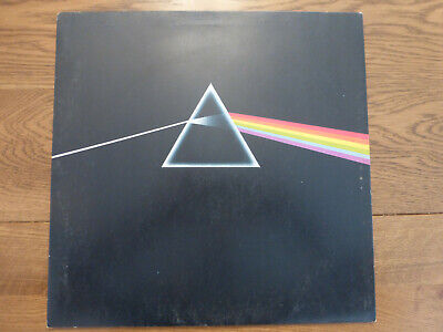 "vintage Pink Floyd-Dark Side Of The Moon 12"" Original Vinyl LP A5-B5"