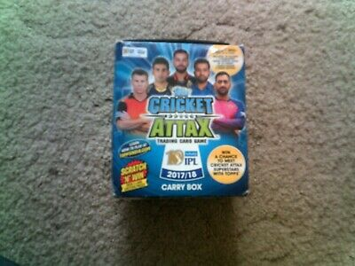 Cricket Attax IPL 2017/18 - Limited Edition Foils & Base cards