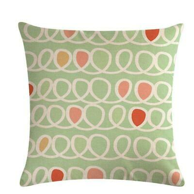 Bohemia Colorful Linen Pillow Cover Sofa Cushion Covers Pillow Protectors W