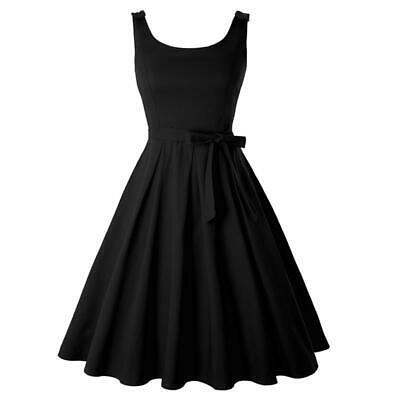Womens Sling Swing Prom Dress Sleeveless Cocktail Evening Party Tutu Dress W