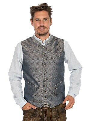 Stockerpoint Traditional Costume Waistcoat Wallace Blue