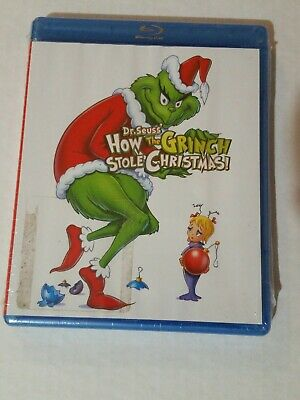 DR SEUSS' How The Grinch Stole Christmas Blu-Ray. Sealed, Free Shipping!!!