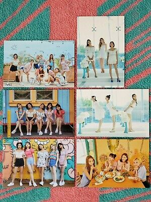 TWICE - POP UP STORE Twaii's Shop Official Trading Card Photocard - Groups