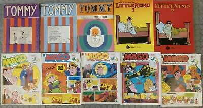 Lotto 10 fumetti Tommy 1968 Editoriale Corno Little Nemo Il Mago