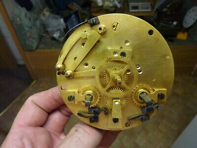 Antique French Clock Striking Movement--Spares--Repair  (Ns1) Free Post