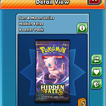 30x Hidden Fates codes pokemon tcg online sent in game Fast