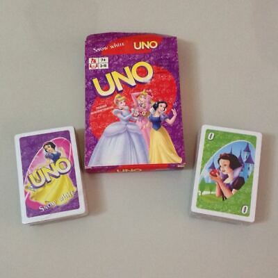 BRAND NEW Disney Princess UNO Card Game - Full set with Instructions