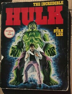 The Incredible Hulk By Stan Lee Fireside Simon And Schuster Book 0-671-24224-5