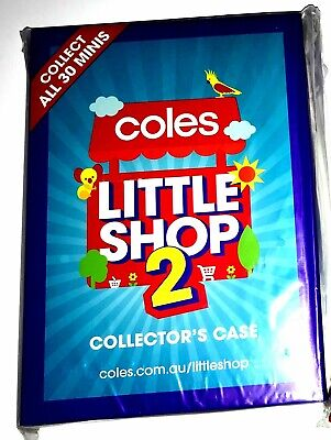 Little Shop 2 full set in case - Coles minis