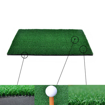 Backyard Golf Mat Residential Training Hitting Pad Practice Rubber Tee Holder SA