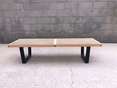 Authentic George Nelson For Herman Miller Platform Bench MID CENTURY MODERN