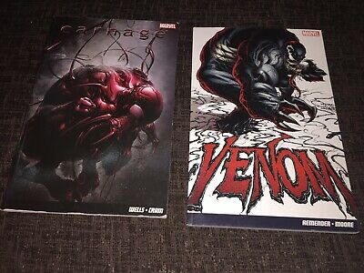 Venom By Rick Rememder & Tony Moore. Carnage By Zeb Wells & Clayton Crain