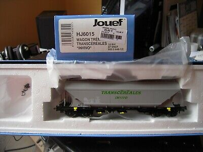 Jouef Sncf Hj6015 : Tremie Cerealier A Bogies Transcereales Invivo Neuf B.o !