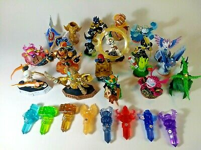 Activision Skylanders Characters and Trap Team Crystal Figure Complete Your Set