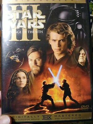 Star Wars episode III Revenge of the Sith dvd Widescreen remastered
