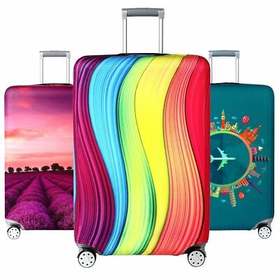 Travel Luggage Cover Elastic Dust-proof Protective Suitcase Trolley Bags Cases
